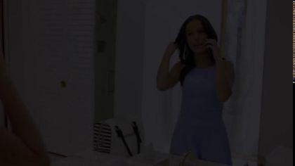 Анальный межрасовый секс с симпатичной брюнеткой, у которой аппетитная попка №1